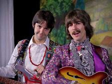 "The Beatles Paul McCartney George Harrison 11x14"" Photo Print"