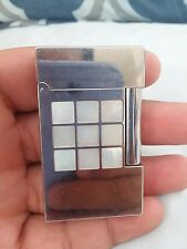 S.T.DUPONT 2002 INSPIRATION NATURE MOTHER OF PEARL LINE 2 LIGHTER - NEW IN BOX