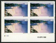 #C133 48c Niagara Falls, Plate Block [V11111 LL], Mint **ANY 4=FREE SHIPPING**