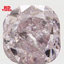 0.21 Ct Natural Loose Diamond Cushion Shape Pink Color 3.10X3.00X2.40MM I1 N5082