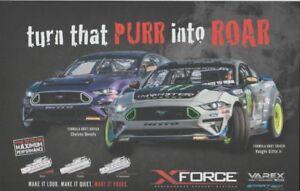 2018 Vaughn Gittin, Jr. X-Force Ford Mustang SEMA Show Formula Drift postcard