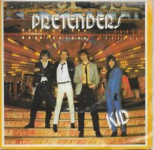 THE PRETENDERS  Kid / Tatooed Love Boys  UK Import 45 with PicSleeve