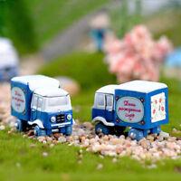 5Pcs Lovely Bee Miniatures For Fairy Garden Gnomes Moss Terrariums DecoratiBI UR