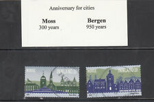 NORWAY used VF (2020) Cities of Moss and Bergen set