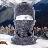 Cold Weather Warm Fleece Balaclava Hood Windproof Snowboard Ski Full Face Mask