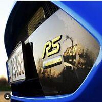 2x Ford Focus RS MK3 3D Gelembleme Inlays Front und Heck