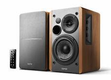 Aktive R1280DB 2.0 HiFi Regal Lautsprecher Wood mit Bluetooth & Digitaleingängen
