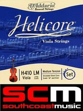 "D'Addario Helicore Viola H410LM Long Scale 16"" & Over Medium Tension String Set"