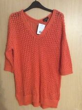 TopShop V Neck 3/4 Sleeve Thin Women's Jumpers & Cardigans