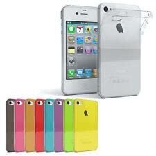 EAZY CASE Handyhülle für Apple iPhone 4 iPhone 4s Hülle Silikon Back Cover Slim