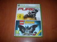 PURE + LEGO BATMAN XBOX 360 (PAL ESPAÑA COMO NUEVO)