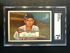 1952 Topps #379 Joe Rossi Reds SGC 7 High Number PSA Set Break