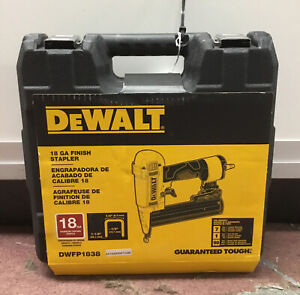 Dewalt DWFP1838 18GA Finish Stapler NEW