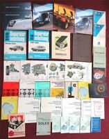 PKW LKW Prospekte Handbücher Katalog 1930er - 1999