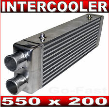 "INTERCOOLER 550 x 200 - SAME SIDE INLET & OUTLET - 63mm 2.5"" OPENING"