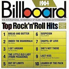 Billboard Top Rock & Roll Hits: 1964 by Various Artists (CD, Sep-1989, Rhino (La