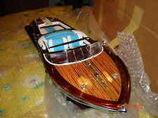 schönes  Modellboot Riva Standmodell 60cm/65cm/ 90cm/120cm/170cm Handarbeit