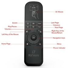 Rii Mini i7 Wireless Remote control Fly Mouse Controller 2.4G for TV BOX PC HTPC