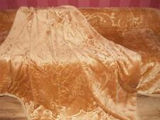 XXL LUXUS Tagesdecke Kuscheldecke Decke gold 200x240