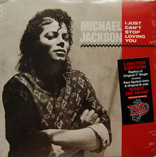 JACKSON Michael 7'' I Just Can't Stop Loving You - LIMITED EDITION Bad 25th - US