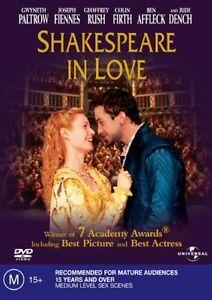 Shakespeare In Love (DVD, 2004)**R4**Gwyneth Paltrow**