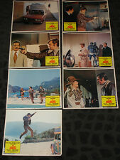 The Burglars Lobby Card set of 7 of  8 - missing 1