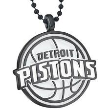 Charm Official Licensed Nba Necklace Detroit Pistons Basketball Chain Pendant
