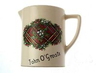Scottish Heather Pottery Jug John O Groats CLT222