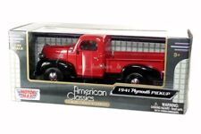 1941 PLYMOUTH PICKUP PICK UP TRUCK DIE CAST RED 1/24 BY MOTOR MAX