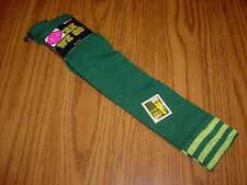 HERE WE GO Knit ~Green & Gold ~ Knee Hi Socks ~ GREEN BAY PACKERS COLORS  Lot II