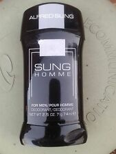 NEW ALFRED SUNG HOMME MEN'S DEODORANT STICK 2.5 OZ