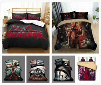 3D Venom Deadpool Bedding Set Duvet Cover Pillowcase Comforter Cover Quilt Cover