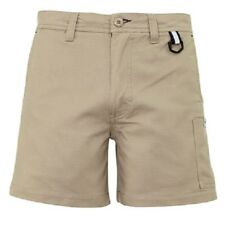 Mens Rip Stop Rugged Cooling Short Shorts Syzmik Khaki