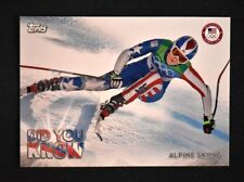 2018 Topps US Winter Olympics Did You Know? #DYK-LV Lindsey Vonn