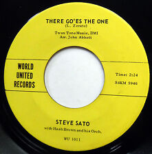 STEVE SATO 45 There Go'es The One / On The Way To Say I Do VG++ Teen R&B e7025