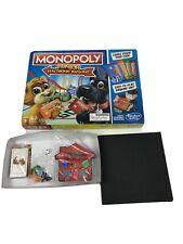 Monopoly Junior Electronic Banking Hasbro Gaming Open Box