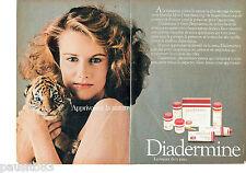 PUBLICITE ADVERTISING 096  1980  Diadermine  cosmétiques creme (2 pages)