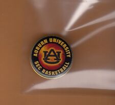 Old AUBURN TIGERS SEC BASKETBALL LAPEL PIN Unsold Stock