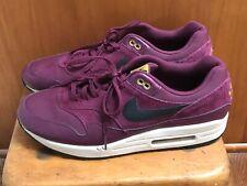 factory authentic 1c0d6 29e71 Nike Air Max 1 Premium Bordeaux Desert Moss Men s 875844 601 Size 12.5 US