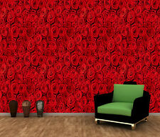 RED ROSES FLOWERS BLOSSOM Photo Wallpaper Wall Mural  335x236  HUGE!