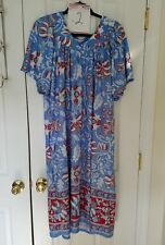 VTG ANTHONY RICHARDS FLORAL 1X NIGHTGOWN HOUSE DRESS LOUNGER MU MU Your choice