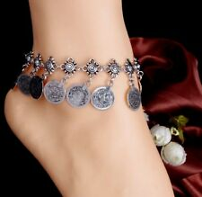 Anklet Ankle Bracelet Foot Sandal 25-1 Women's Fashion Jewelry 925 Silver Plated