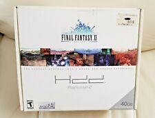 Brand,New Sealed PS2 Final Fantasy XI Online 40GB Hard Disk Drive Bundle RARE