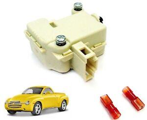 SSR Rear Cargo Bed Cover Trunk Lid Tailgate Popper Latch Lock Release Solenoid