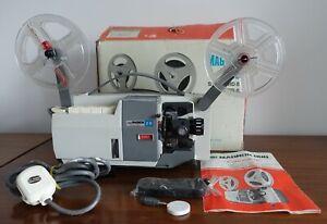 Vintage 8mm Super8/Standard8 Film Projector Prinz Magnon Zoom Lens BOXED Working