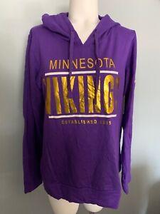 Minnesota Viking Women's Purple Sweater Size L msrp $60.