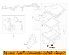 FORD OEM 11-14 Mustang Air Intake-Air Cleaner Assembly Insulator F5ZZ9P686AA