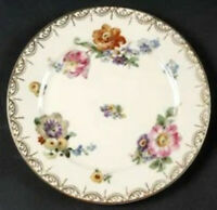 """Meissen by Rosenthal ContinentalIvory China Set Of 8 Cream 7 5/8"""" Salad Plate"""