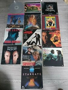 Laserdisc Movies Collection x 13 movies