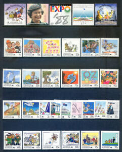 Australia 1988 Year set complete unmounted mint, 64 stamps (2020/11/26#02)